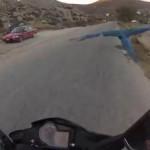 バイクでインコと散歩する!これが幸せの青い鳥なのか?