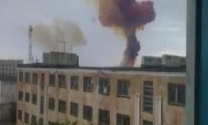 【衝撃】撮影している場合じゃない!ロケットが墜落したときは迅速に窓から離れるべき!