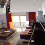 Oculus Rift(オキュラスリフト)でバーチャルジェットコースターを体験するお父さんを撮影してみた!