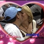 映ったら絶対キス!スポーツ観戦のキスカム(Kiss Cam)が観ているだけで幸せになれる!