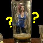 【画像ネタ】グラスに映る美女の本当の姿は?