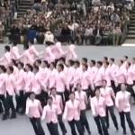 集団行動は何度見ても面白い!日本体育大学2014年の演技!