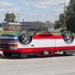 ひっくり返って走っているように見える車を作ってみたイリノイ州のオジサマ!