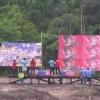 タイのロケット花火祭り!予想できない形の花火が飛んでいく様子が面白い!