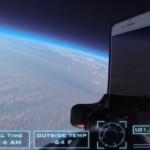 iPhone 6よ成層圏に届け!宇宙から戻ってきても壊れないiPhone 6の勇姿!
