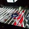 最新の3D氷上投影ショー!ホッケー会場のリンクにアイスプロジェクション!