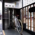 京都の地下駐輪場がハイテクすぎ!自転車を自動で地下に格納!