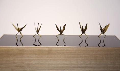 簡単 折り紙:鶴の折り紙-worldnetter.com