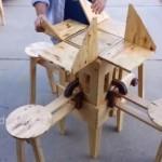 これほしい!折りたたみの椅子とテーブルのセット!