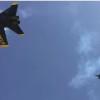ブルーエンジェルスのサプライズ低空飛行!