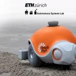 砂浜に絵を描くディズニーのカメ型ロボット「Beach Bot」