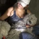 感動の犬レスキュー!下水道で生きる2匹の犬を保護!