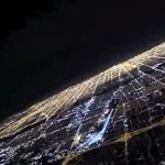 美しきミッドナイトランディング!シカゴ・オヘア国際空港への夜間着陸!