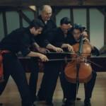 混乱必至!1台のチェロで4人がかりのボレロ演奏!
