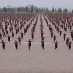 少林寺カンフーアカデミーの生徒36000人によるMVが凄い!
