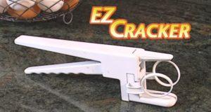 もう卵を割るのに失敗しない!ドイツ製たまご割り器EZ Cracker!